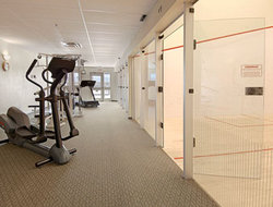 Fitness Center Squash Courts