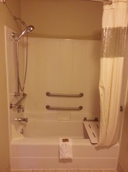 Handicap Tub Shower Combo Room 325 Only