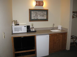 King Suite Wet Bar