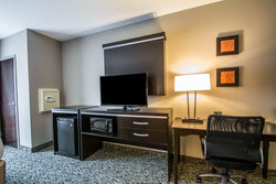 Suite TV, Microwave, Refrigerator and Work Desk