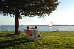Sandaway With Guests Relaxing on Chairs
