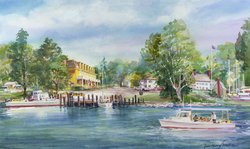 Historic Port of Oxford, MD - Chesapeake Bay