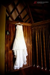 Wedding Dress Photography at Glasbern Inn