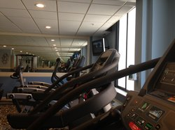 Hotel Fitness Room