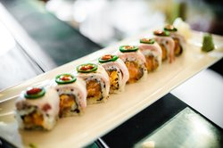 J House Spicy Tuna Roll
