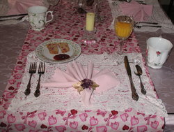 Valentines Place Setting 2