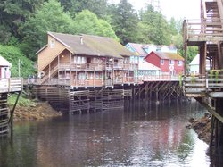 Ketchikan Creek and Stores