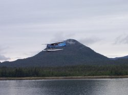 Float plane over Tongass Narrows
