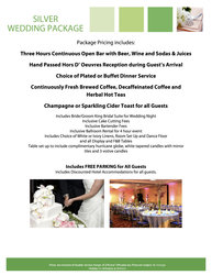 Silver Wedding Package Pg