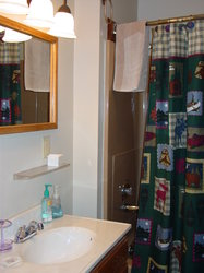 Hall Bathroom with Tub/Shower