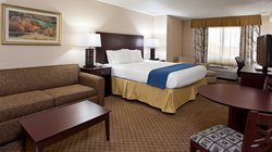 Holiday Inn Express Wadsworth One King Bed Executive Suite