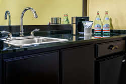 All our suites features a wet bar, microwave & fridge.