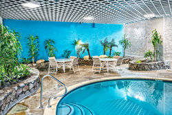 Make a splash at our Houston hotel with an indoor pool!