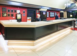 Experience friendly customer service from our front desk staff