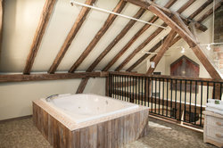 Upper Stable Loft Jacuzzi