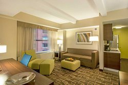 Residence Inn NYC Manhattan Midtown Suite Living