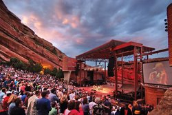 Red Rocks Amphitheater (Credit Steve Crecelius)