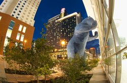 Colorado Convention Center Big Blue Bear