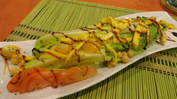 Mango Romain Salad w/Herb Dressing