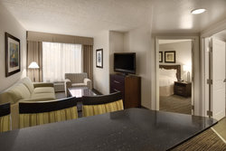 Three Room Suite with Two Bedrooms Living Area
