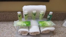 Our Bath and Body Works guest room amenities