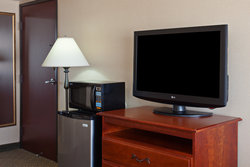 Guest Rooms feature microwaves and refrigerators