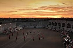 Sunset Ceremonies at Fort Henry