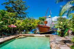 Pool, Shipwreck Island Water Park & toddlers pool