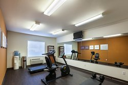 Stay fit in our exercise room!