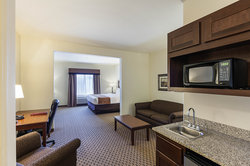 All of our rooms provide lots of space, including a separate living room