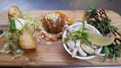 Tasting Plate at The Full Circle Eatery