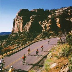 Biking Colorado National Monument