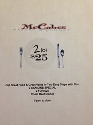 2 For $25.00