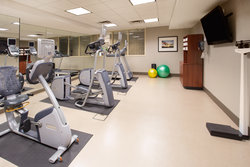 Work out in our well-equipped Precor Fitness Center