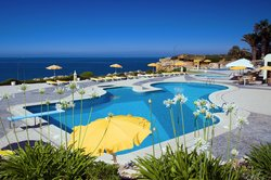 Pools, sun terrace and sea view