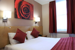 The Red Rose Room - one of our most popular rooms!