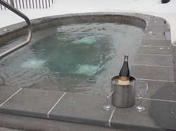 Hot Tub and WIne