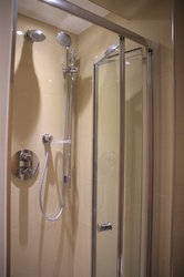 Power Shower and highest quality bathroom fittings