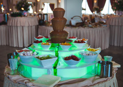 Fontanna czekoladowa|Chocolate fountain