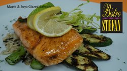 Maple And Soya Salmon