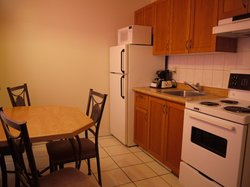 1 Bedroom suite kitchen