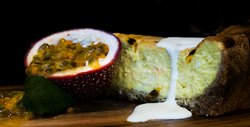 Home baked delights: Passionfruit Cheesecake
