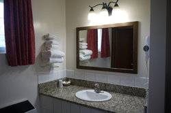 Updated Sink And Counter Double Bed Rooms