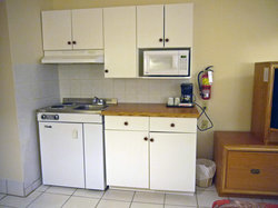 Kitchenette room with 2 Double beds
