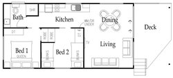 Saltwater Floor Plan