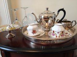 Silver Tea Service in All Rooms