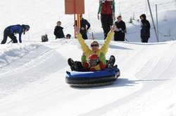 Tubing at Schweitzer Mountain Ski Resort