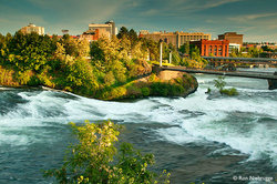 Downtown Spokane & River Front Park