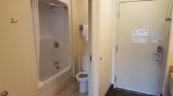 Guestroom Shower and Restroom