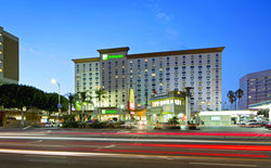 Holiday Inn LAX home of the L.A. RAM's Football